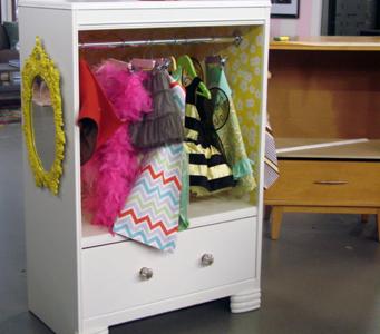 Dress Up Fun Diy Costume Cabinet
