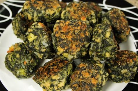 Spinach balls with sweet hot mustard | Cityline