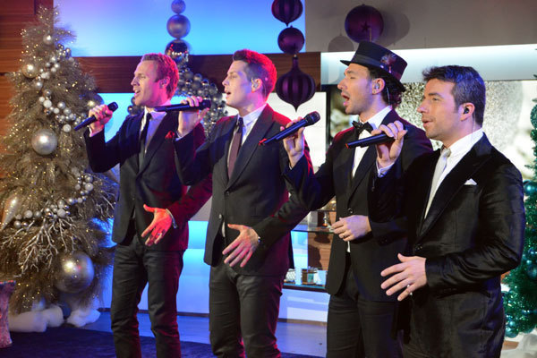 The Tenors serenade the audience