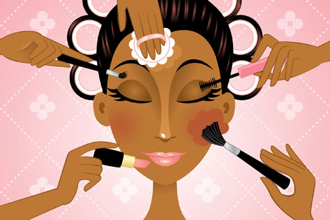 How to pick the right makeup colours for black skin