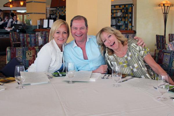 Karen Sealy, Bill Rowley, and Lisa Rogers
