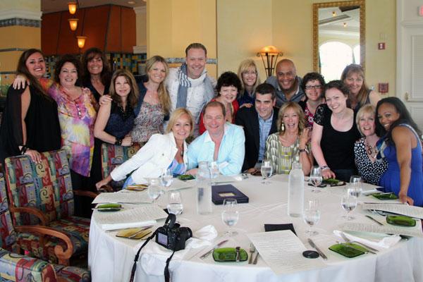 The Cityline City in Disney crew celebrates a job well done!