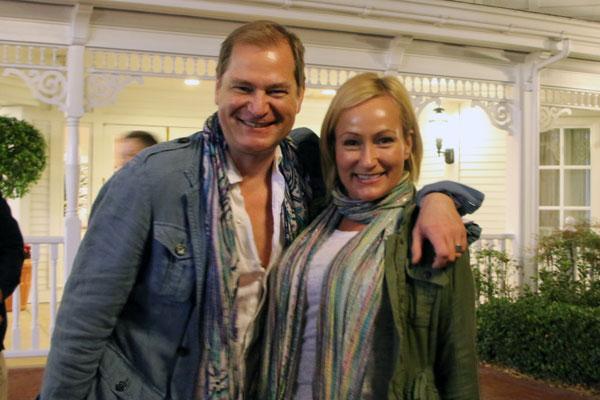 Bill Rowley and Karen Sealy
