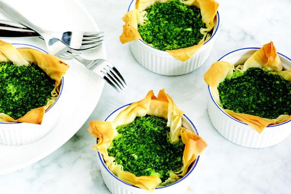 Mini Kale And Goat Cheese Risotto Cakes Recipes — Dishmaps