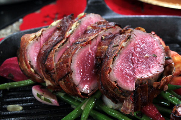 Double-smoked bacon-wrapped beef tenderloin | Cityline