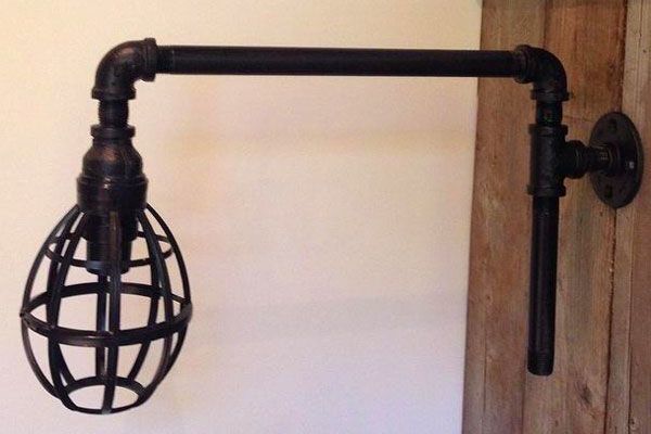 Diy Industrial Wall Lamp Cityline