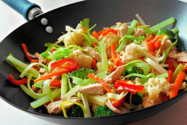 Stir-fry chicken with Asian-style vegetables | Cityline