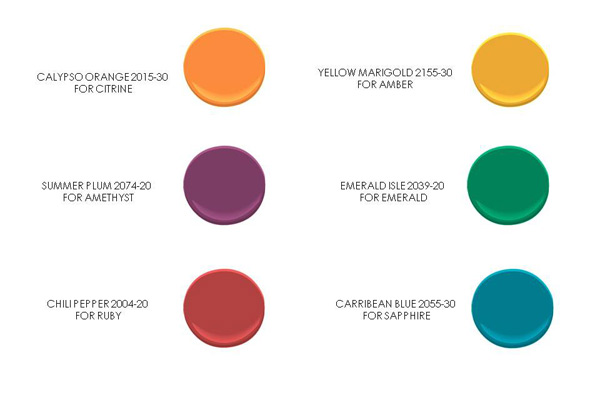 How to add bright and bold jewel tones to your decor - What are jewel tones ...