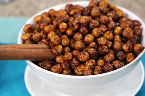 Sweet and spicy maple-cinnamon roasted chickpeas | Cityline
