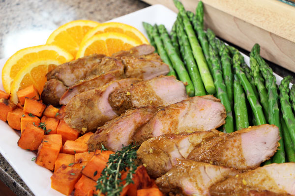 Spiced orange-maple roasted pork tenderloin | Cityline