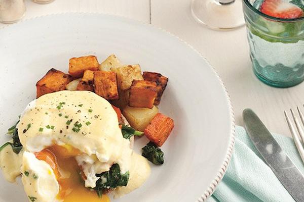 Smarter eggs Florentine