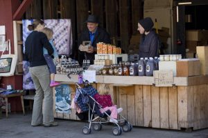 St Jacobs Farmers Market Buggy Shed Vendors
