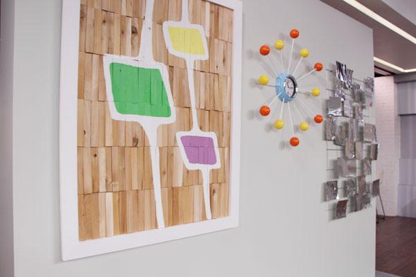 DIY: Mid Century Modern Wall Art