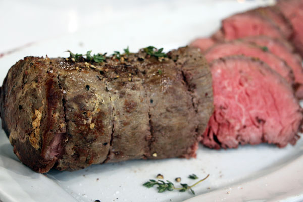 Beef tenderloin with mustard-thyme crust | Cityline