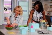 cityline host tracy moore with leigh-ann allaire perrault