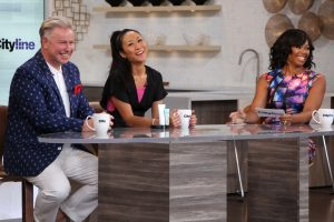 cityline host tracy moore with kirk brierley and christine cho