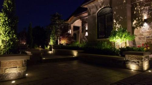 Illumination for shrubbery