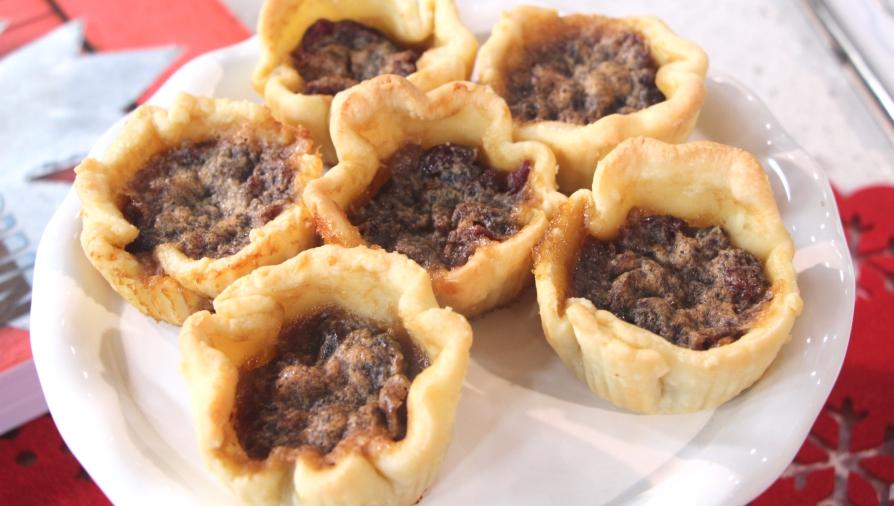 Cranberry maple butter tarts - Cityline