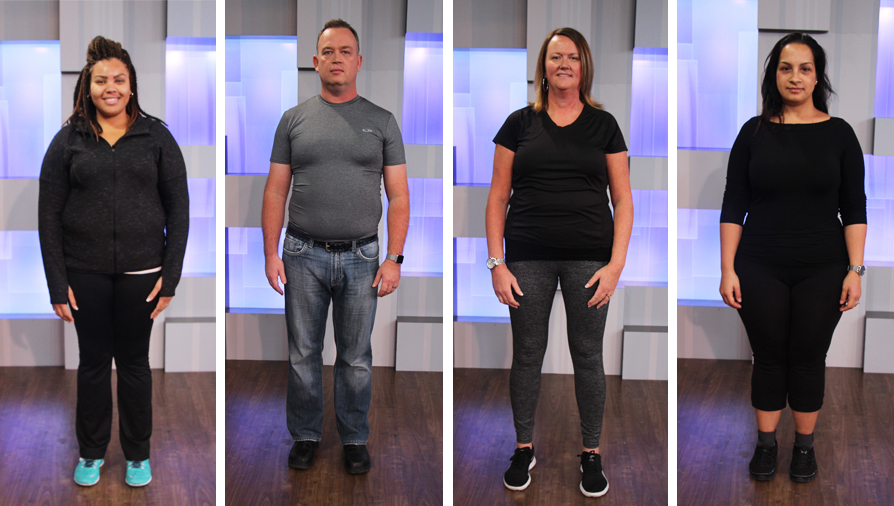 2017 Cityline Weight Loss Challenge winners