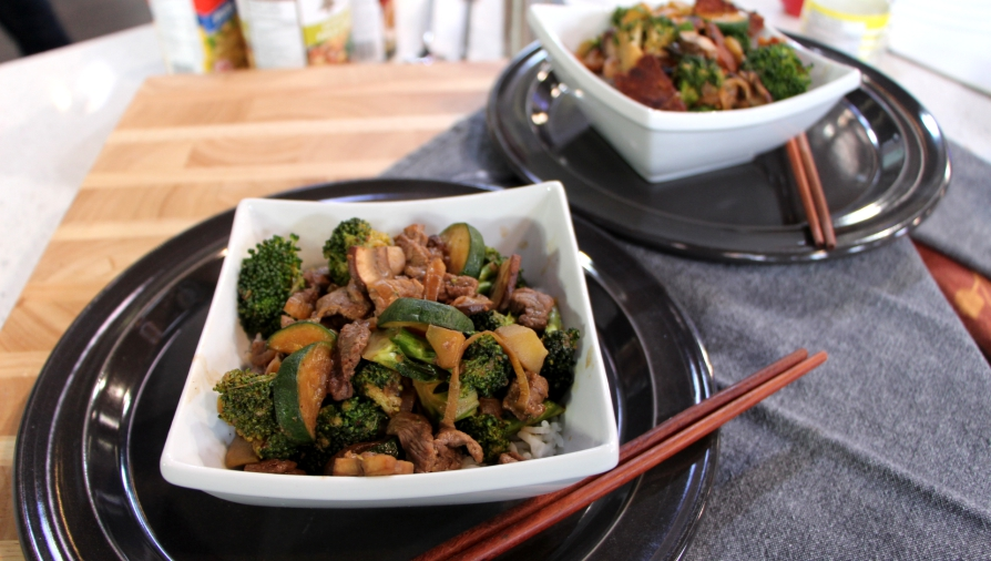 Tempeh or Beef and Broccoli with Rice - Cityline.ca