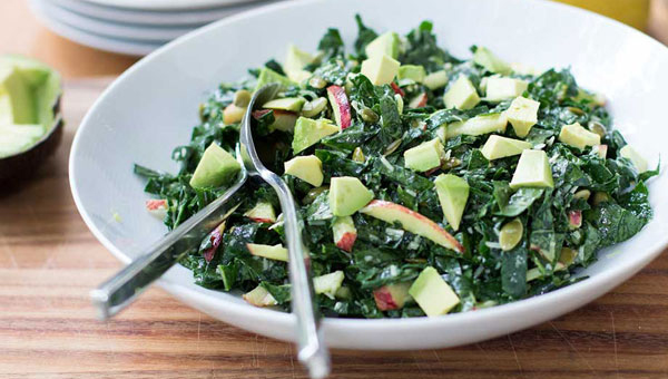 Dr. Joey's protein-rich chopped salad