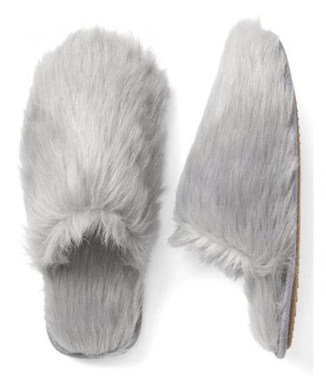 Cozy slippers for winter nesting