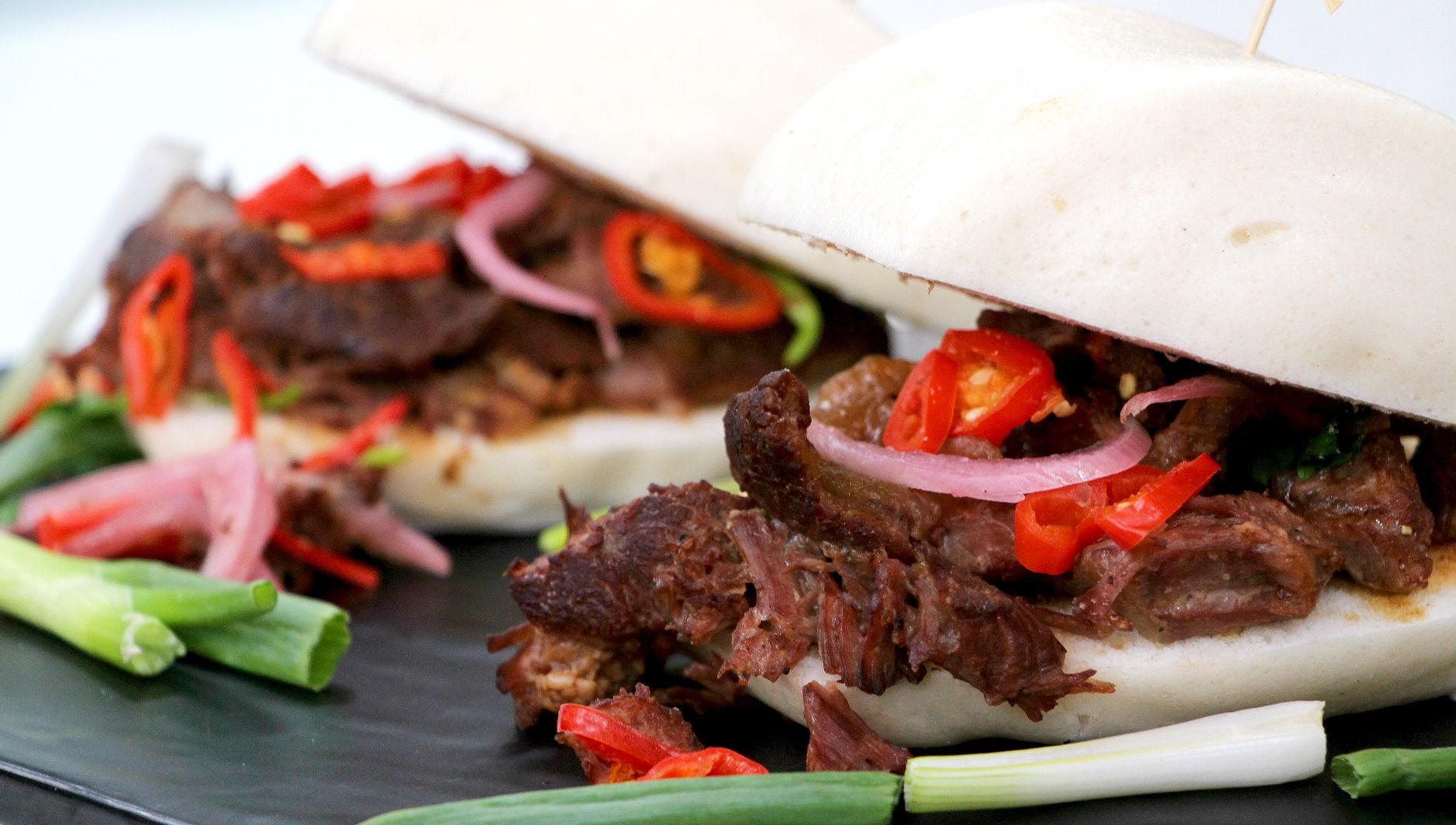 Braised Beef Cheek With Steamed Buns Cityline