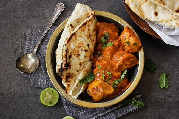 Chef Devan's famous butter chicken recipe