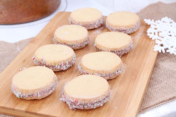 Randy Feltis' dreamy + delicious shortbread cookies