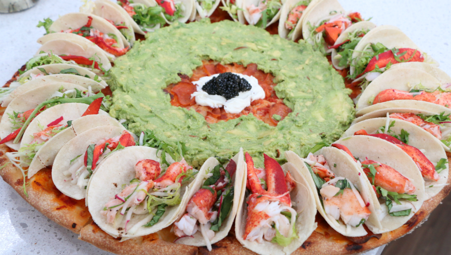 Lobster taco pizza (perfect for IG) - Cityline
