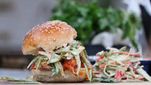 Pulled pork sandwich with Randy Feltis