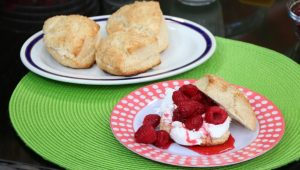 Raspberry Shortcakes with Clair Tansey