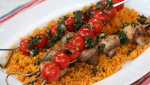 mushroom and tomato skewers july 3rd ricardo