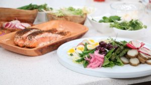 Seared Salmon Nicoise SaladSeared Salmon Nicoise Salad