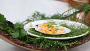 Scallop Ceviche with Garden Gems