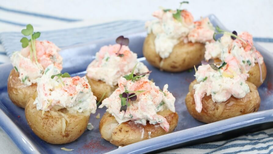 Nordic Shrimp-Stuffed Potatoes - Cityline