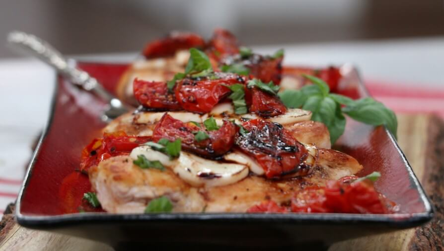 Cheesy Caprese Chicken with Roasted Tomatoes - Cityline
