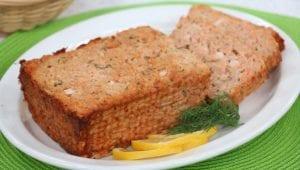Lemon and Herb Salmon Loaf