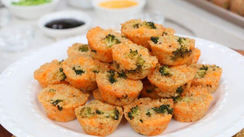 Broccoli & cheddar quinoa bites - Cityline