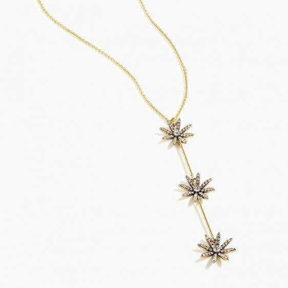 Vintage-Inspired Crystal Necklace
