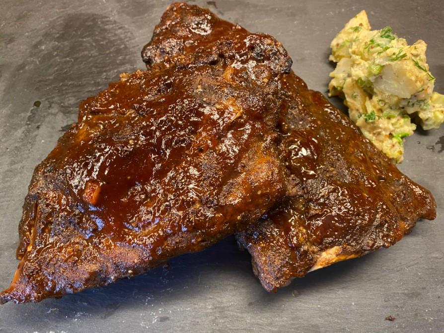 Oven-roasted ribs and potato salad - Cityline