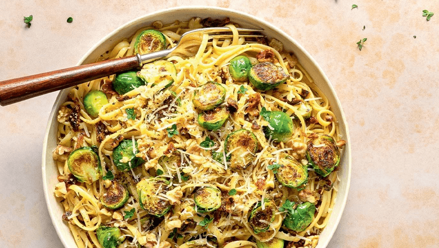 Brussels sprouts pasta - Cityline